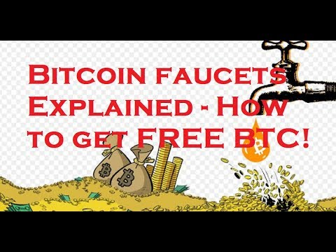Claiming FREE cryptocurrencies - Bitcoin faucets explained!
