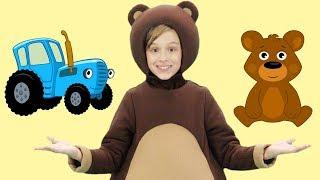 ДЕНЬ РОЖДЕНИЯ - МАША И ТРИ МЕДВЕДЯ - Песня мультфильм для детей Праздничная Funny Bears Song
