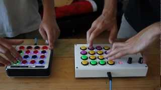 Mad Zach & Samur_Eye finger drumming a sick beat on Midi Fighters Thumbnail