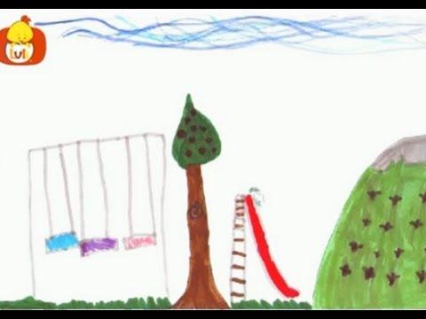 Puedo dibujar el columpio luli tv youtube for Para desarrollar un parque ajardinado