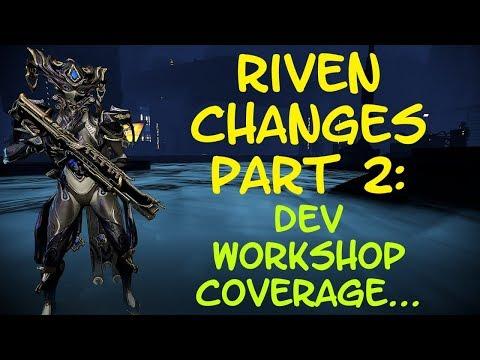 Warframe - Archgun Rivens Purchasable Soon™ & More! - Riven Changes Part 2 Dev Workshop! thumbnail