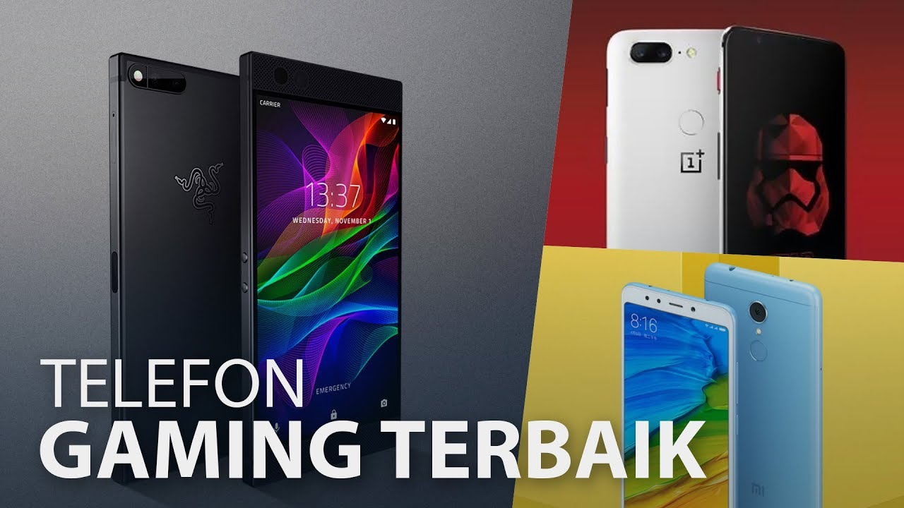Telefon Gaming Terbaik Januari 2018 Youtube
