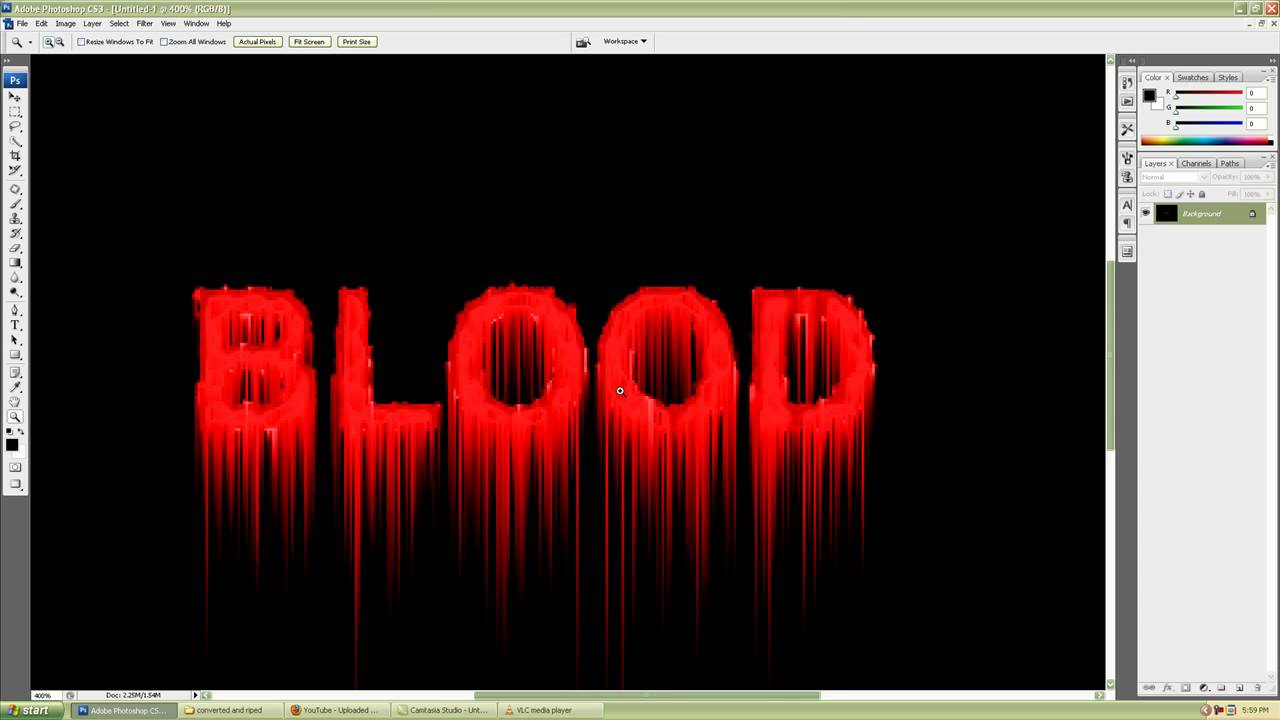 Photoshop cs3 simple and realistic blood text effect tutorial for photoshop cs3 simple and realistic blood text effect tutorial for beginners youtube baditri Gallery