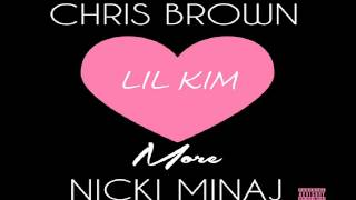 Скачать CHRIS BROWN FT NICKI MINAJ LIL KIM LOVE MORE HD REMIX