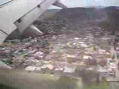 Tegucigalpa Honduras landing