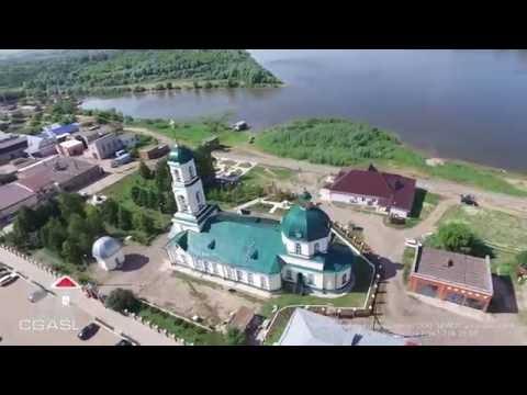 Аэросъемка города Вятские Поляны (Кировская область)
