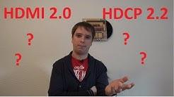 HDMI 2.0 / HDCP 2.2 was ist das? | Bildinhalt kann nicht angezeigt werden