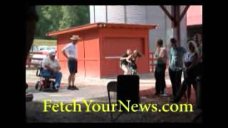Nydia Tisdale gets arrested for video recording Georgia GOP public rally 08/23/14