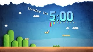 5 Minute Countdown // Super Mario Brothers Themed
