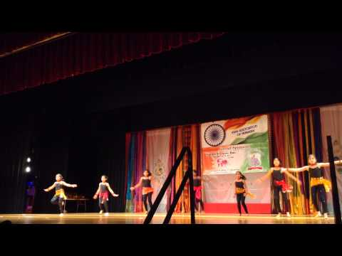 Rhythms Colors of India 2013 Omaha NE - Nikhita Mogadala and