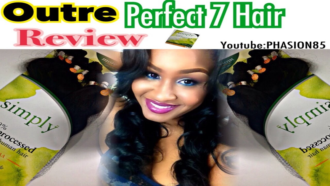 OUTRE Simply Perfect 7 Brazilian Hair Review YouTube