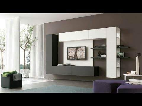 Modern tv cabinet design 2017 2018 youtube for Latest tv unit designs 2016