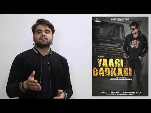 Yaari Badkari Ninja (Official Video) | Sidhu Moose Wala | Goldboy | Latest Punjabi Song 2018