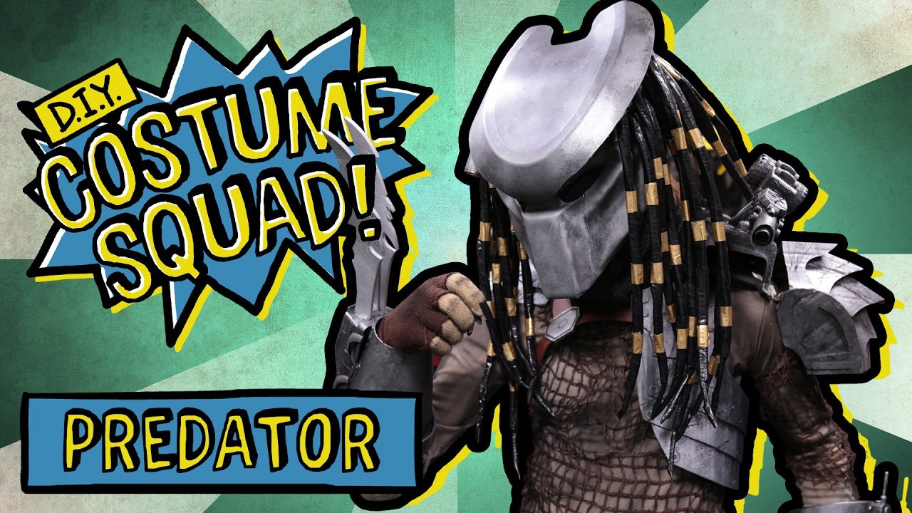 Make your own predator costume diy costume squad youtube make your own predator costume diy costume squad solutioingenieria