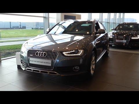 Audi A4 Allroad Quattro 2015 In Depth Review Interior Exterior