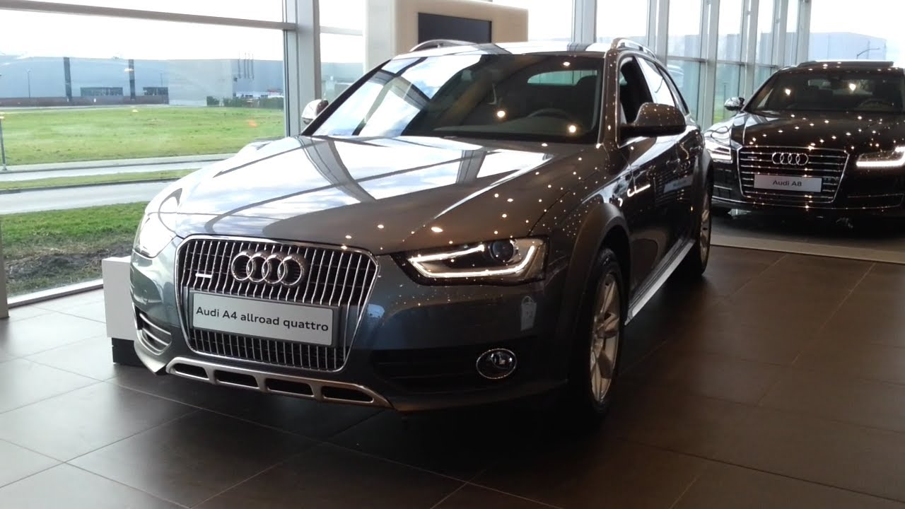 Audi A4 Allroad Quattro 2015 In Depth Review Interior Exterior - YouTube