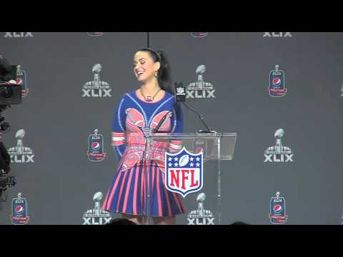 Katy Perry Super Bowl XLIX Pepsi Half-Time Show Press Conference