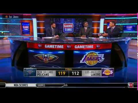 Sam Mitchell and Brent Barry discussing Lonzo Ball: The good, the bad, and the ugly.