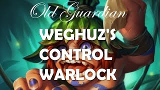 Weghuz's Control Warlock (Hearthstone Rastakhan deck)