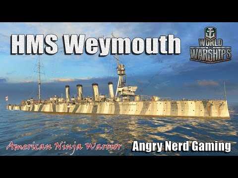 World of Warships: The HMS Waymouth