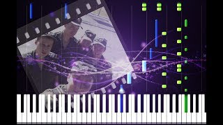 Сектор Газа - Демобилизация на пианино (кавер + урок)