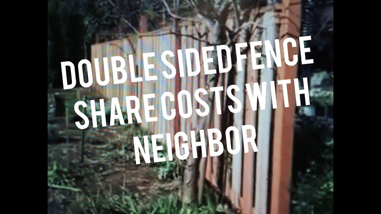 Build Fence On Property Line Easy Cedar Wood Good