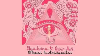 Shakira - Ojos Así [Official Instrumental]