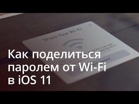 Как поделиться wifi