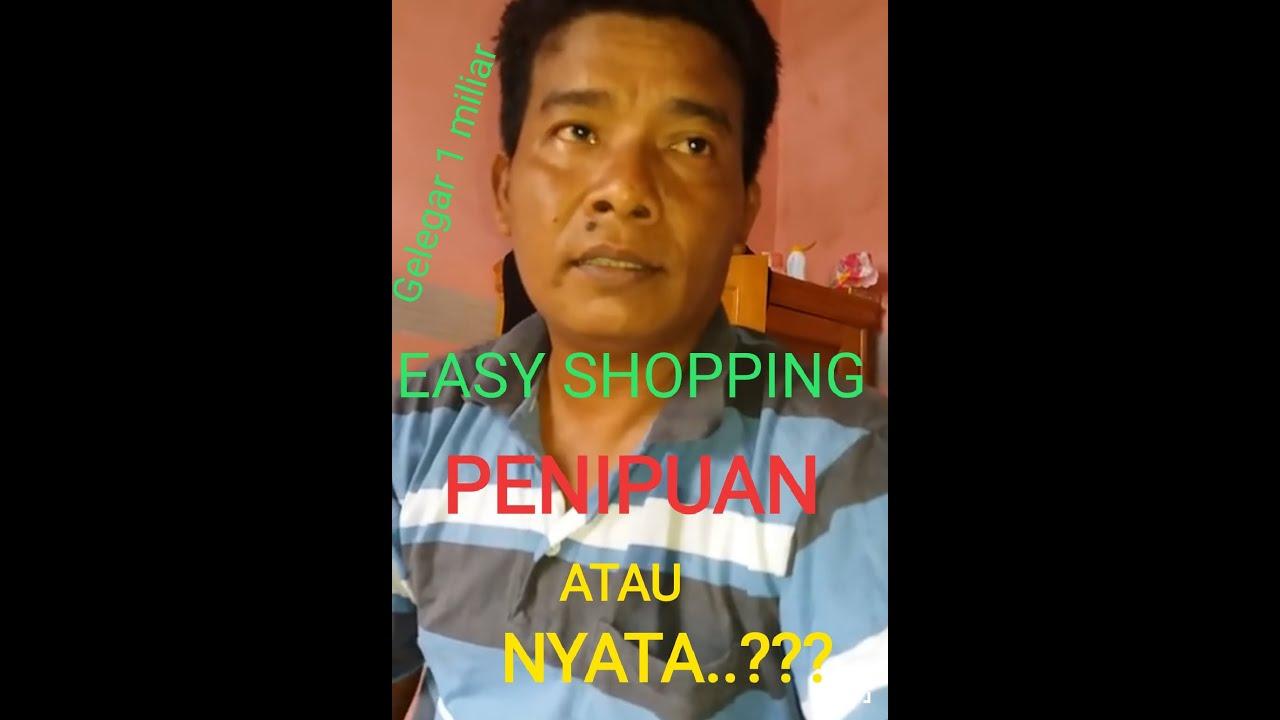 Easy Shopping Penipuan Atau Nyata Youtube