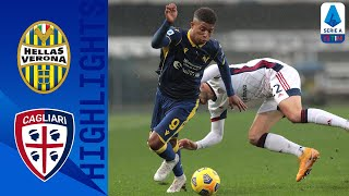 Hellas Verona 1-1 Cagliari | Spoils Shared Between Mid Table Rivals | Serie A TIM
