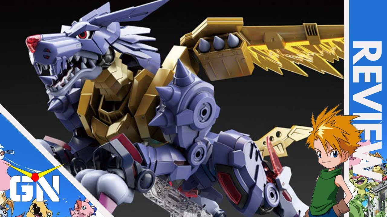 Figure-rise MetalGarurumon (Amplified) | REVIEW