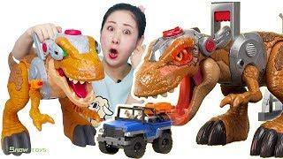 巨大遺跡 超大恐龍戰士變色眼睛 叢林高橋控制台 越野車搭檔 巨大奔龍 Imaginext Jurassic World Jurassic Rex Toys  ★ 雪晴姐姐玩具王國 ★ Snowtoys