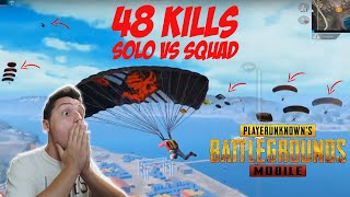 REACTIONEZ la *CEL MAI MARE RECORD* din 2020 - 48 KILLS - Solo vs Squad