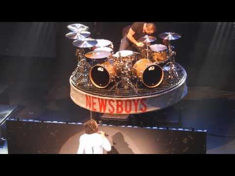 The cross has the final word - Newsboys live in Stamford