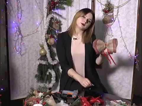 Ранок-панок. Анна Гриців - новорічний бант власноруч