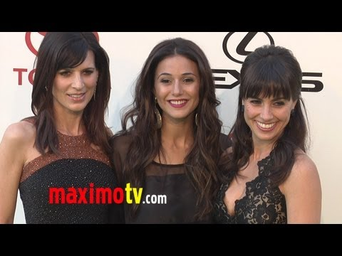 Entourage HOTTIES Emmanuelle, Perrey and Constance at 2011 ENVIRONMENTAL MEDIA AWARDS