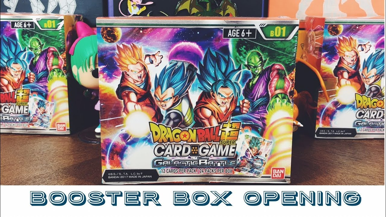 Dragon Ball Z Super Galactic Battle TCG Booster Display Box English