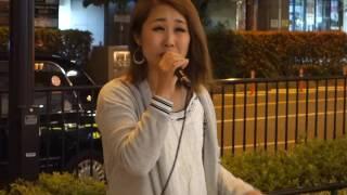 Ellie「ごめんね…」(高橋真梨子)、梅田周辺、16.06.01 thumbnail