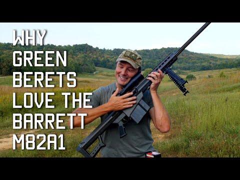 Why Green Berets Love the Barrett M82A1   Tactical Rifleman
