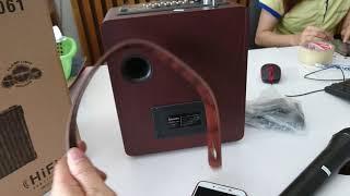 Loa Kéo di động Karaoke ZANSONG A061