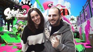 ¡¡¡LOS VIDEOJUEGOS NOS UNIERON A MI NOVIA Y A MI!!! - Sasel - Nintendo switch - Splatoon 2 - amor