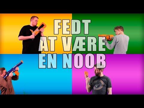 Fedt At Vre En Noob - feat. Minervalle, Comkean & Vercinger (original musikvideo)