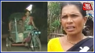 No Ambulance In Sight, Neighbour Pedals Woman To Hospital On Rickshaw