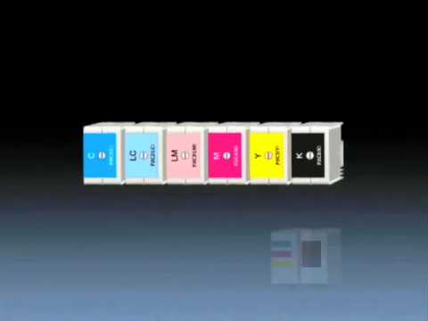 Epson_Discproducer_06_Independent Large_capacity Ink Cartridges.wmv