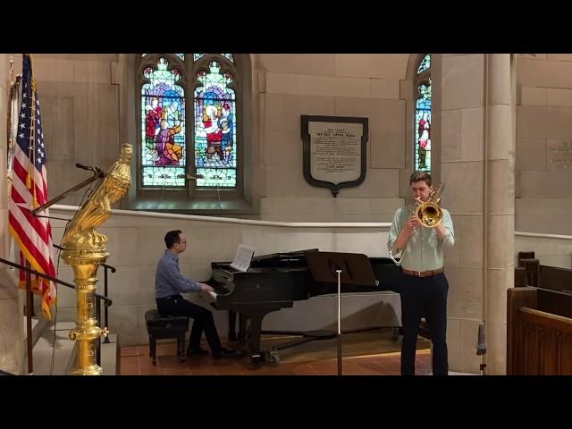 John S. Dixon - Aria, for trombone and piano