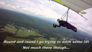 Late summer hang gliding in Ellenville NY