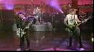 Green Day - Walking Contradiction Live on Letterman