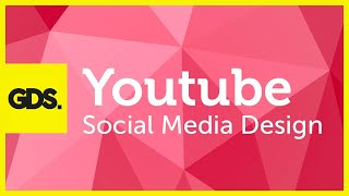 Youtube social media design in Photoshop