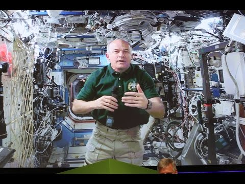 Astronaut Jeff Williams LIVE from the International Space Station