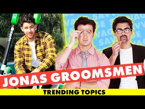 Nick Jonas Announces Groomsmen gifting BEST Groomsmen Gift Ever! Mp3